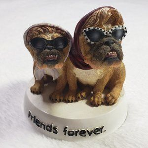 "Zelda Wisdom ""Friends Forever"" Figurine Dog Figure"